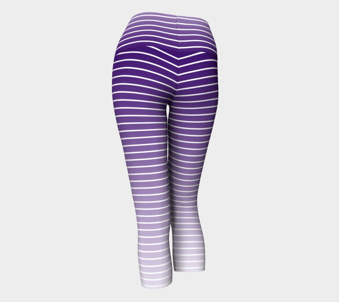 Lunatic Stripe Royal Purple Fade with White Stripe preview #3