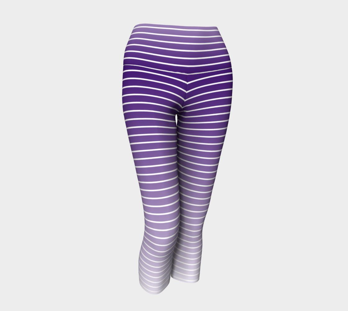 Lunatic Stripe Royal Purple Fade with White Stripe preview #1