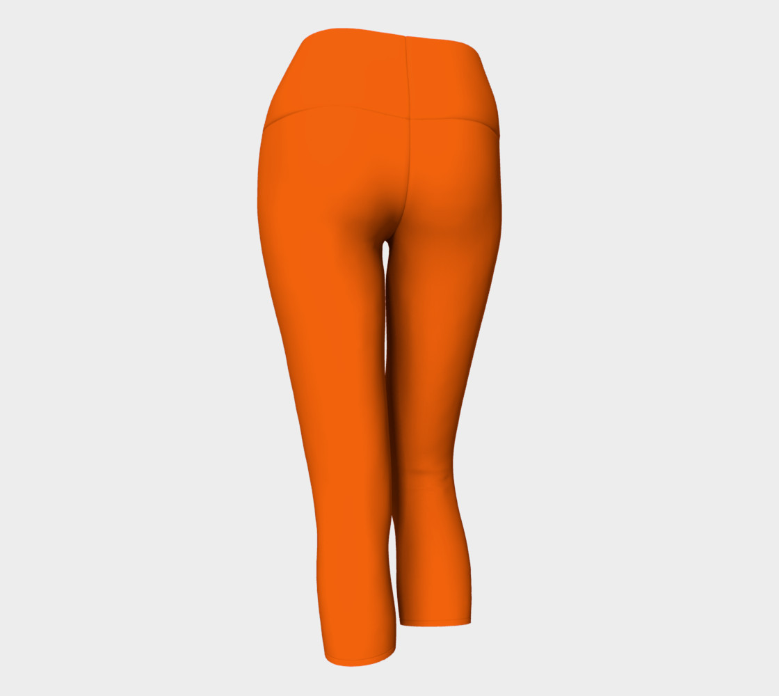 Juicy Orange Yoga Capris preview #3