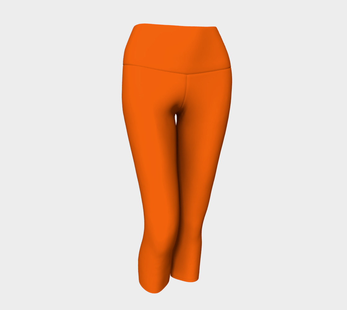Juicy Orange Yoga Capris preview #1