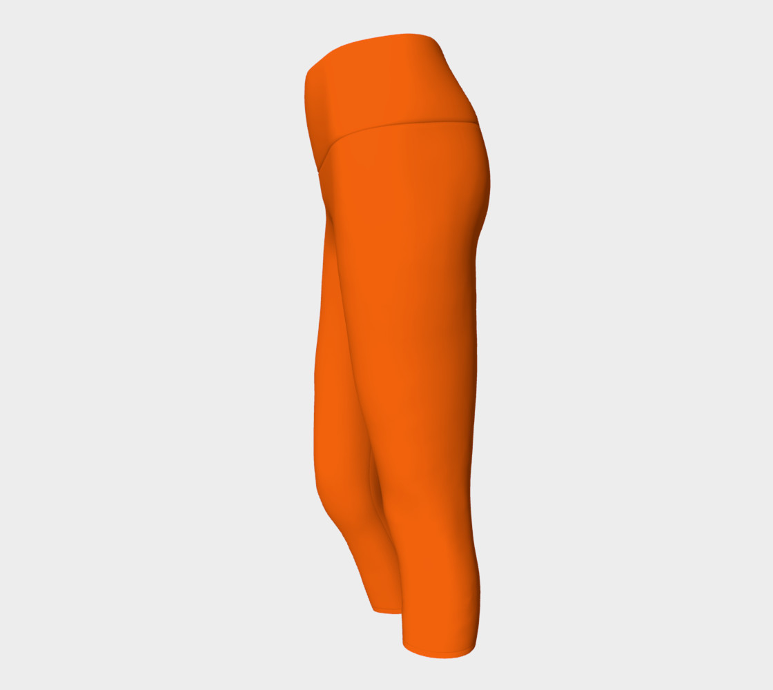 Juicy Orange Yoga Capris preview #2