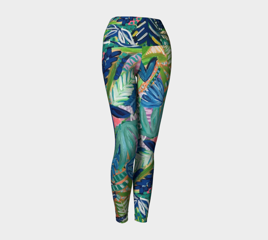 Jungle Jive- Yoga Leggings preview #1