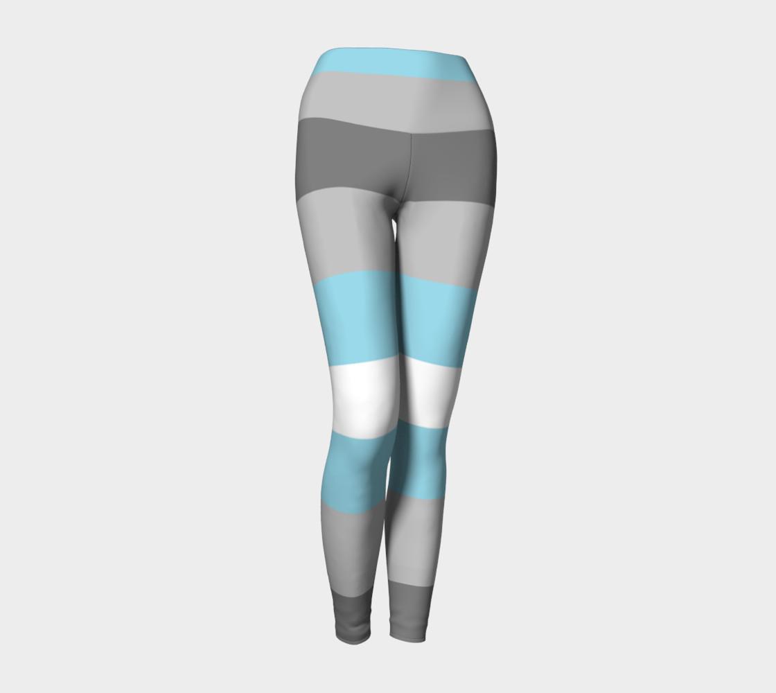 Demiboy LGBT Yoga Leggings preview #1