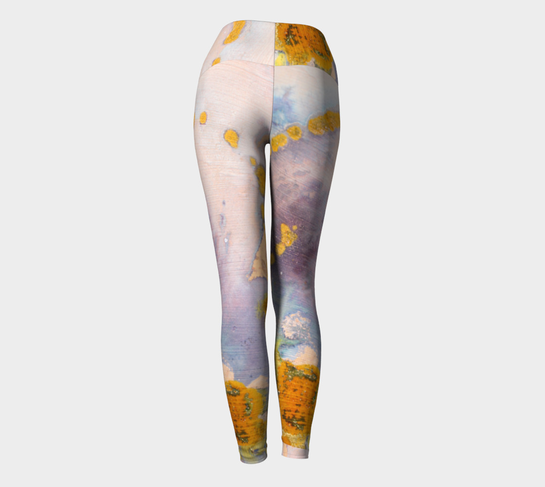 watercolor leggings preview #4