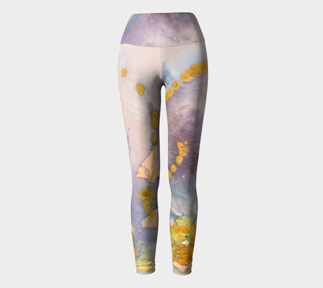 watercolor leggings preview #2