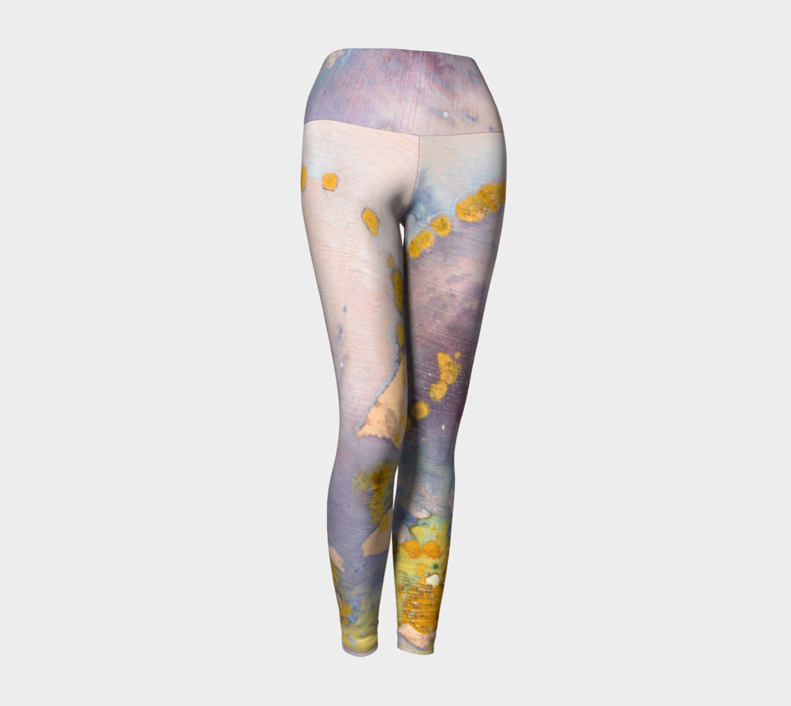 watercolor leggings preview #1