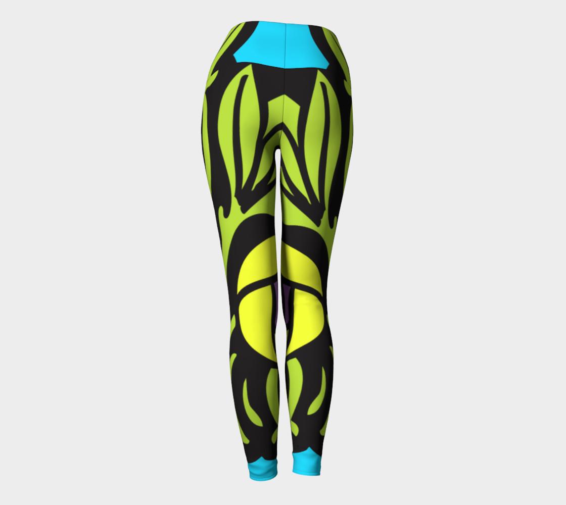 Bold and Beautiful Yoga Leggings preview #4