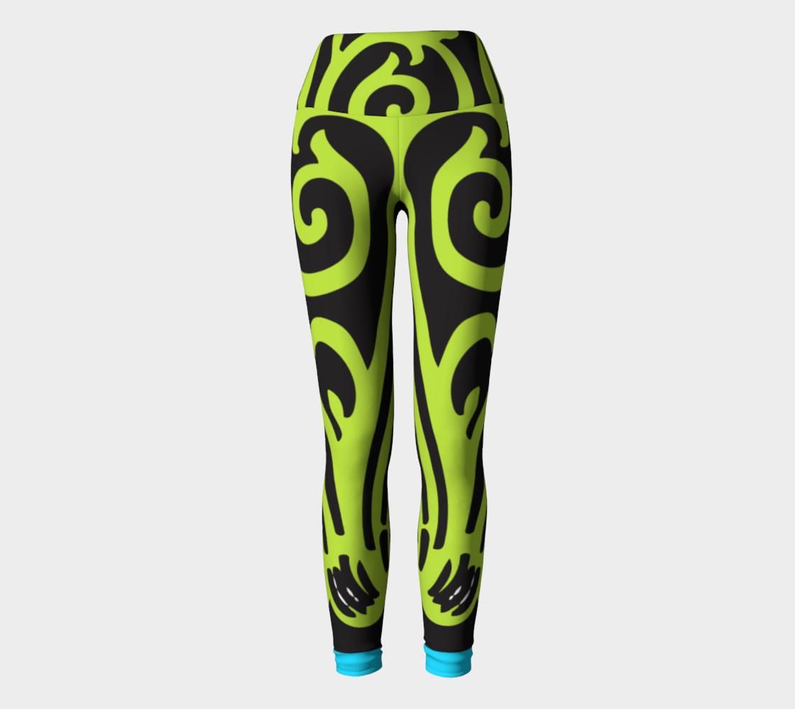 Bold and Beautiful Yoga Leggings preview #2