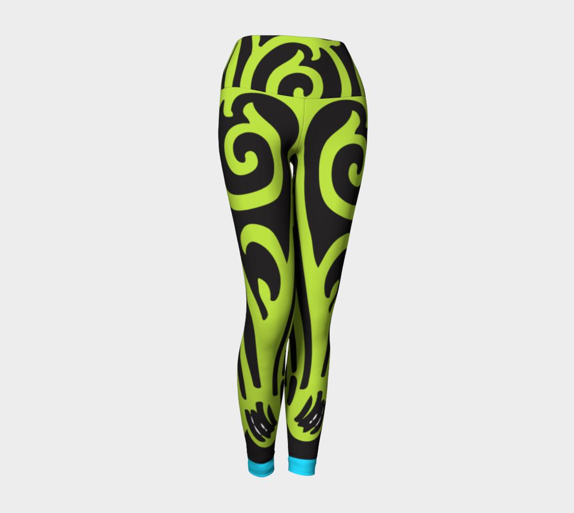 Bold and Beautiful Yoga Leggings preview #1
