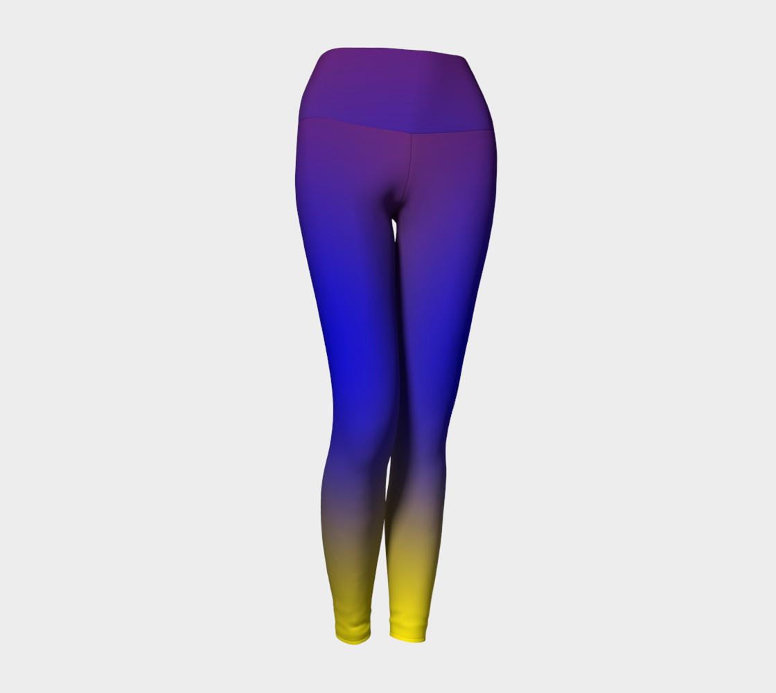 Aperçu de Mind's Eye Yoga Leggings #1