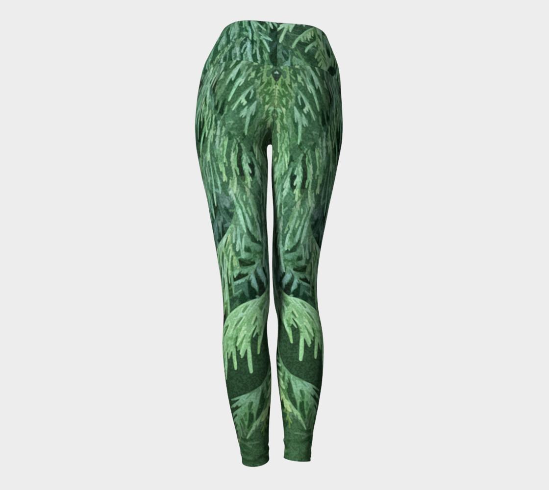 Rainforest Yoga Leggings preview #4