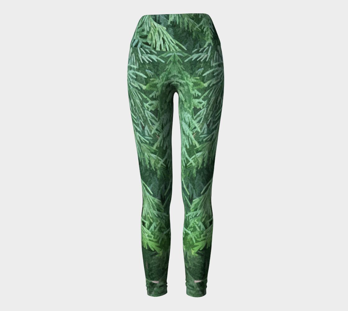 Rainforest Yoga Leggings preview #2