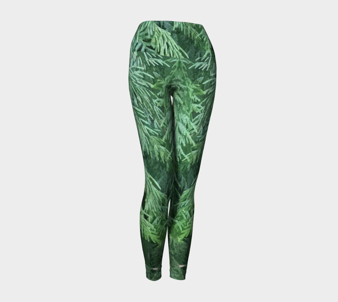 Rainforest Yoga Leggings preview #1