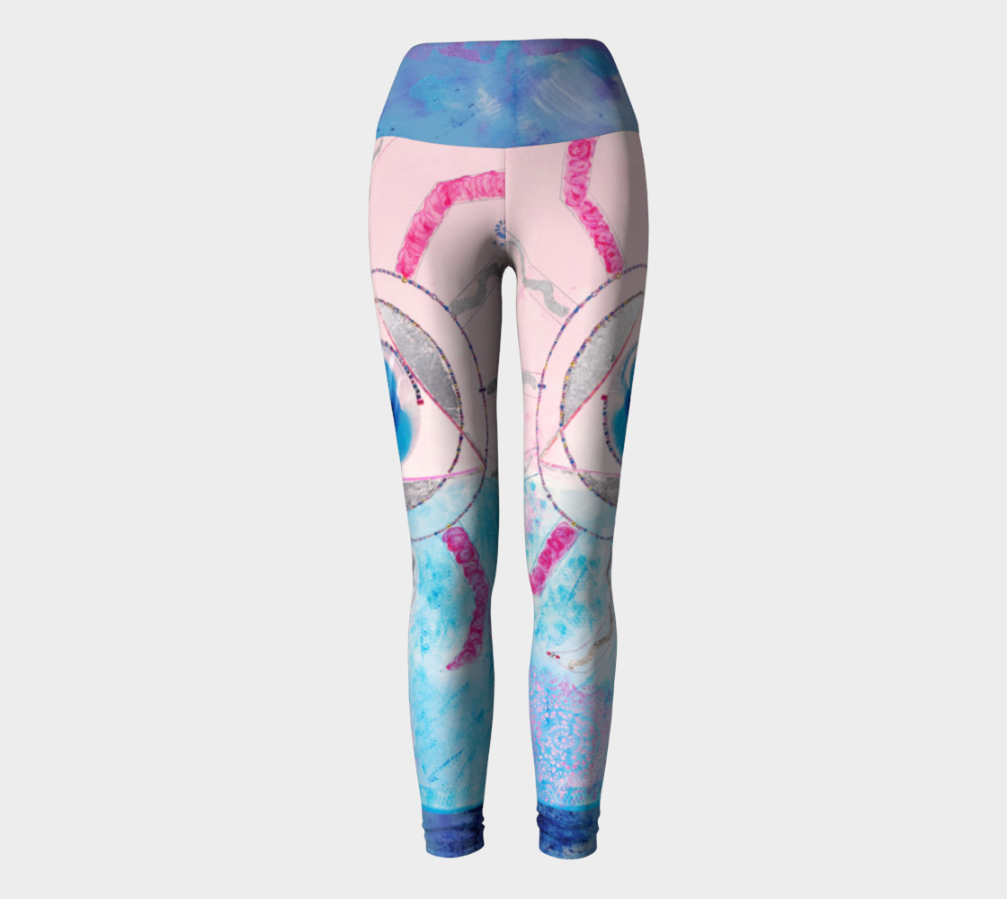 Something Wonderful Yoga Leggings preview #2