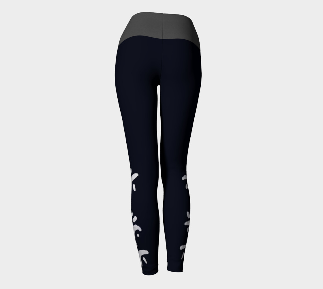 Black yogas with grey band preview #4