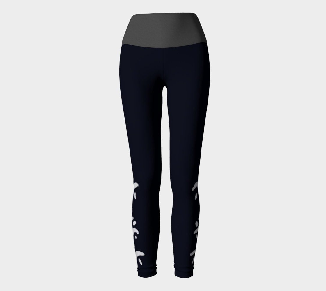 Black yogas with grey band preview #2
