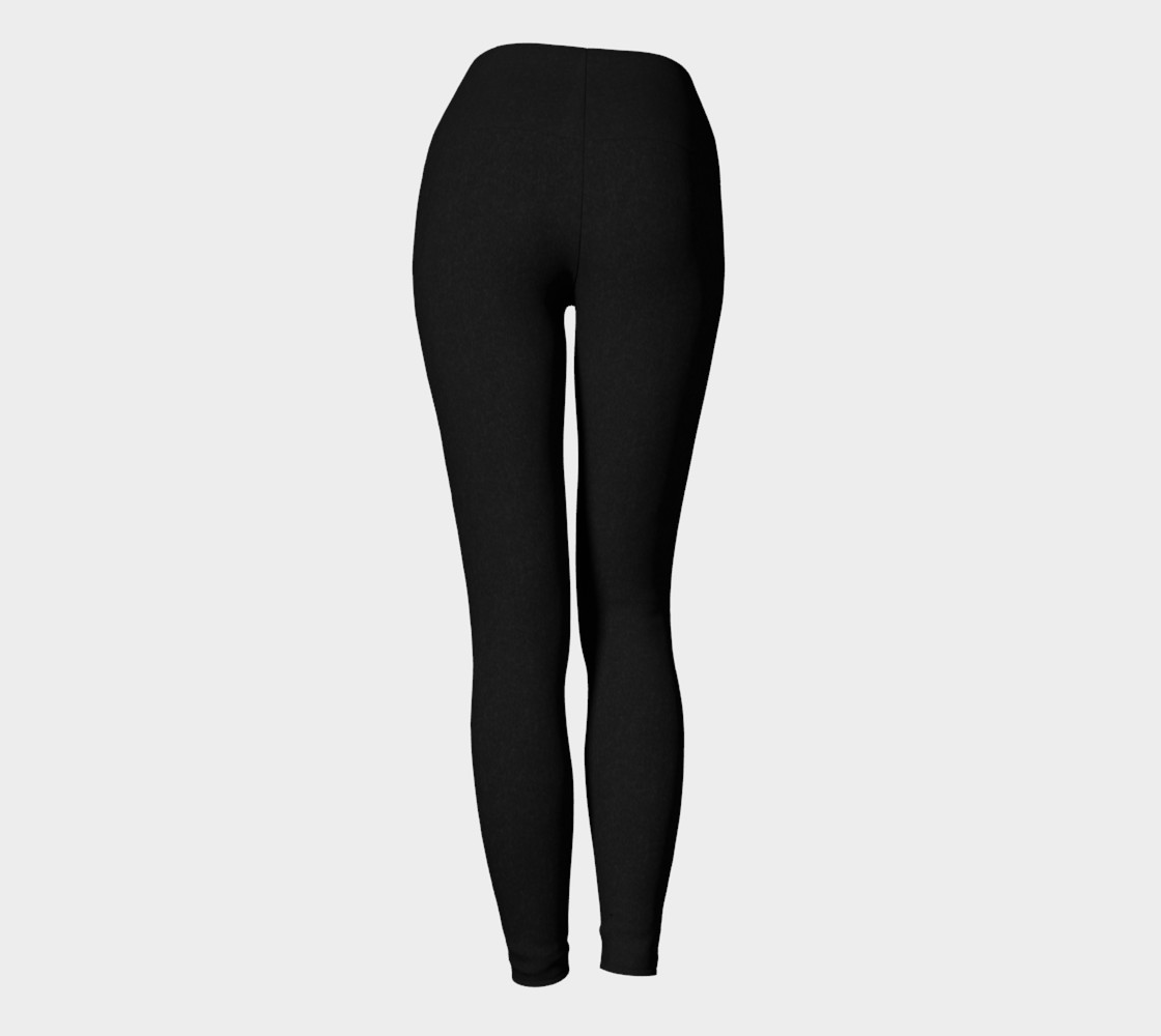 Charcoal | Yoga Leggings preview #4