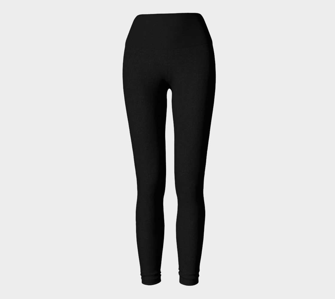 Charcoal | Yoga Leggings preview #2