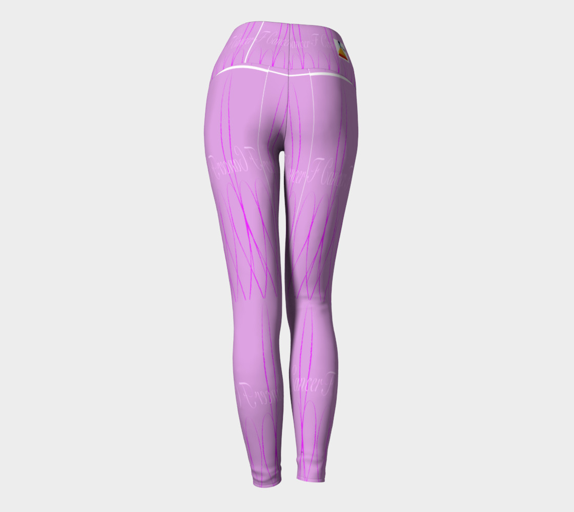 FK Cancerr Yoga Leggings preview #4