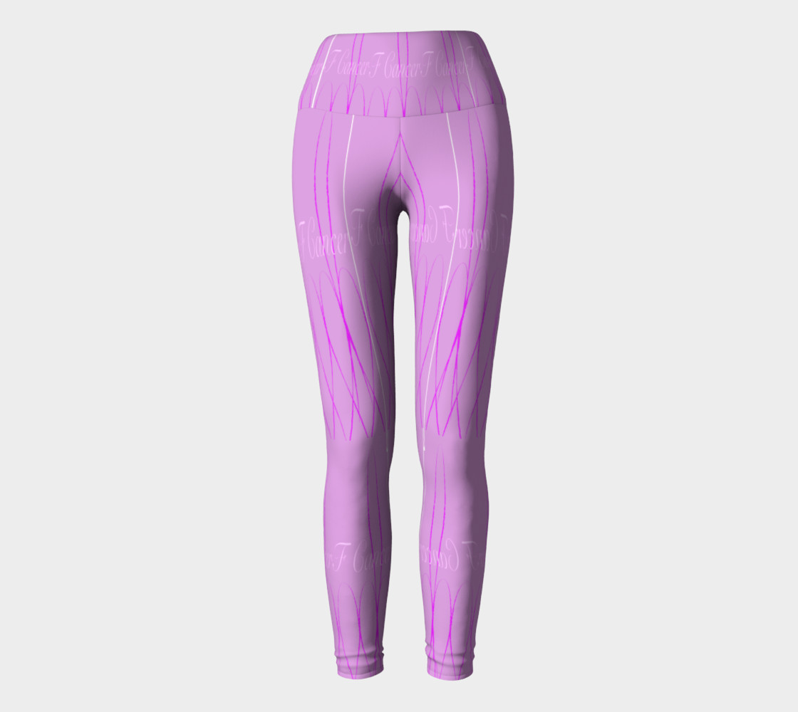 FK Cancerr Yoga Leggings preview #2