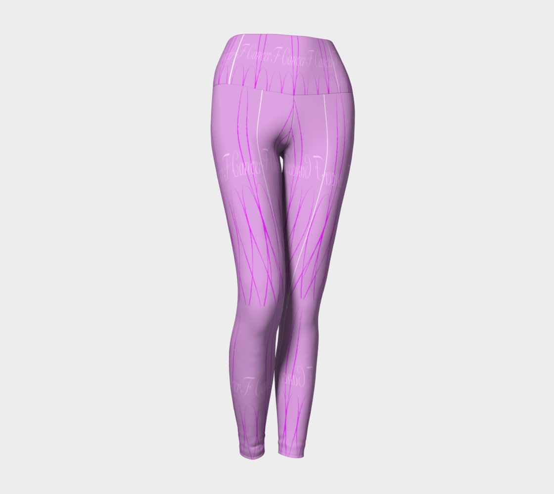 FK Cancerr Yoga Leggings preview #1