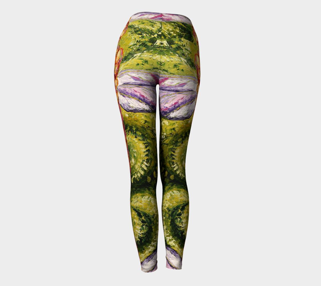 green dragon yoga pant preview #4