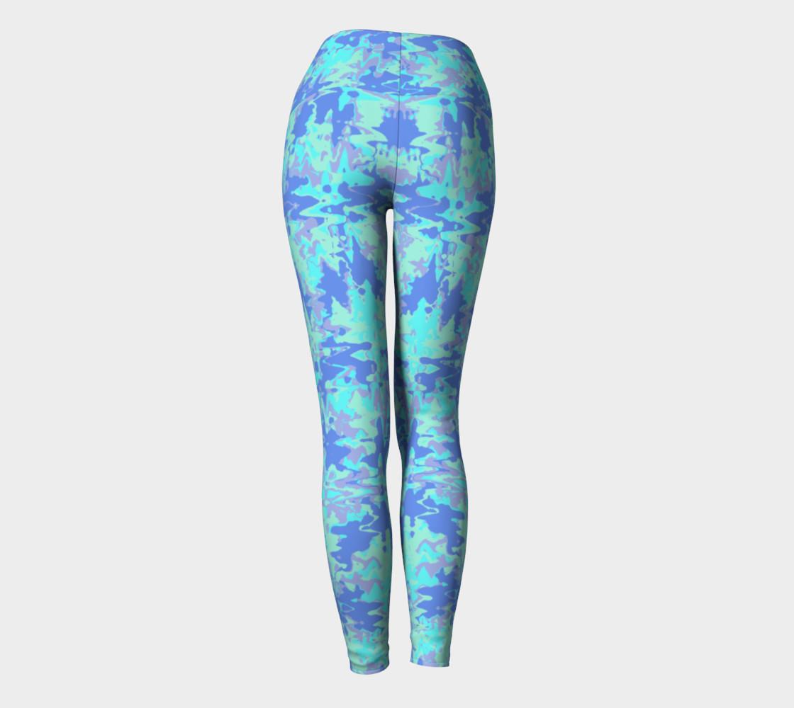 Wavy blue pattern preview #4
