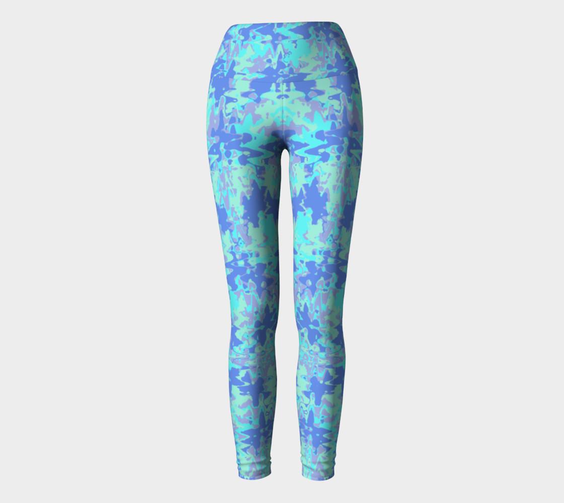 Wavy blue pattern preview #2