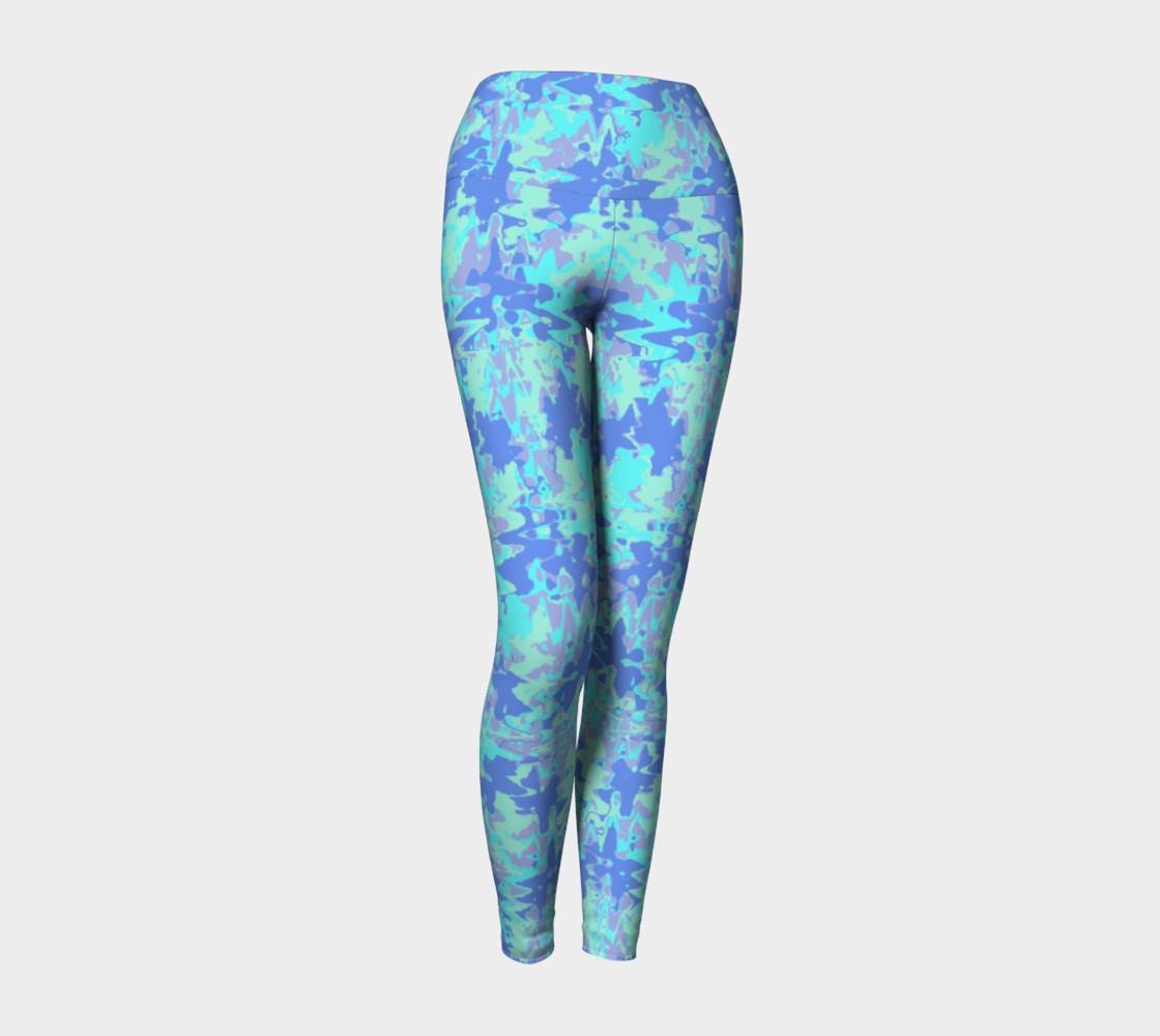 Wavy blue pattern preview #1