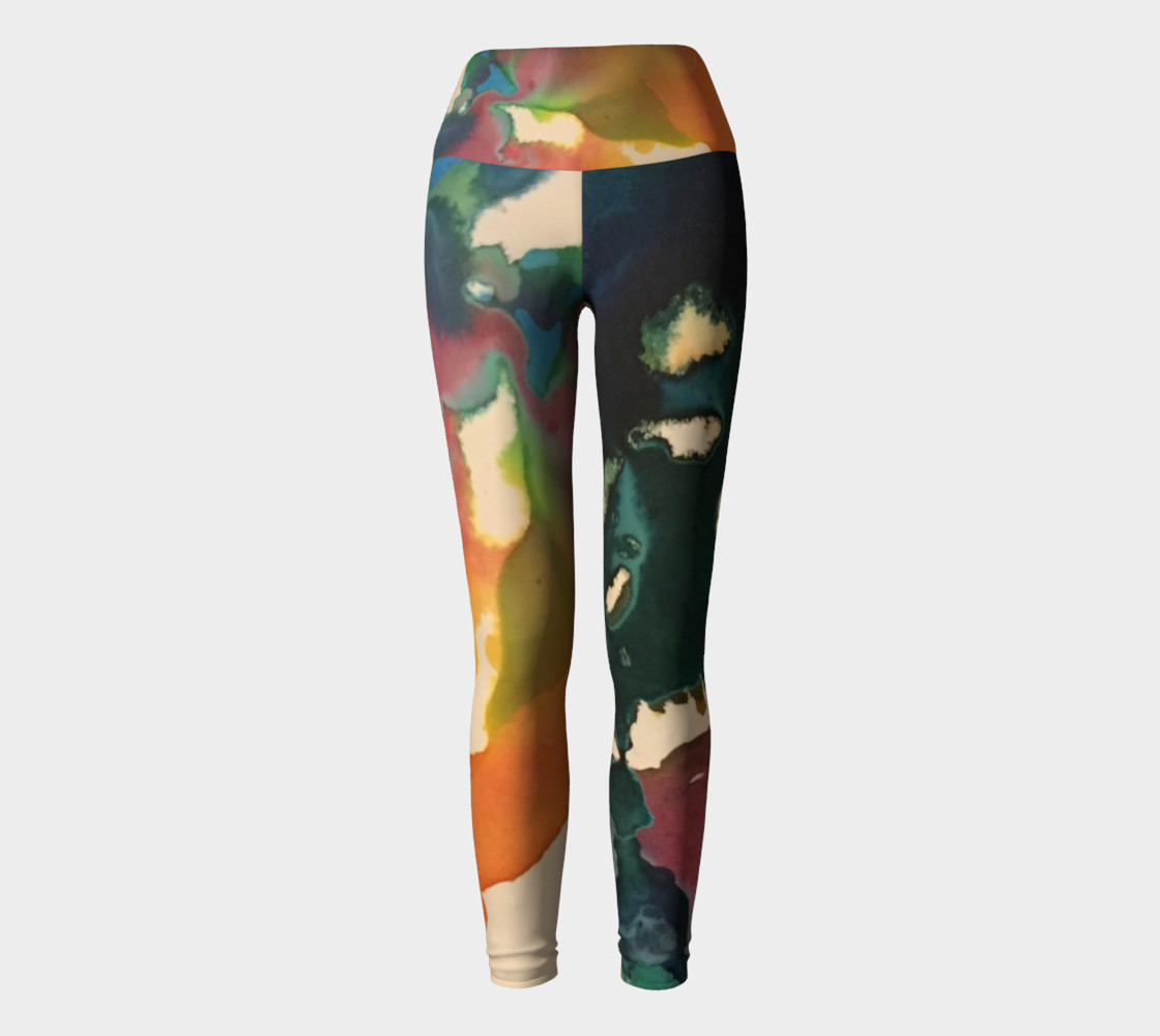 Orb yoga leggings preview #2
