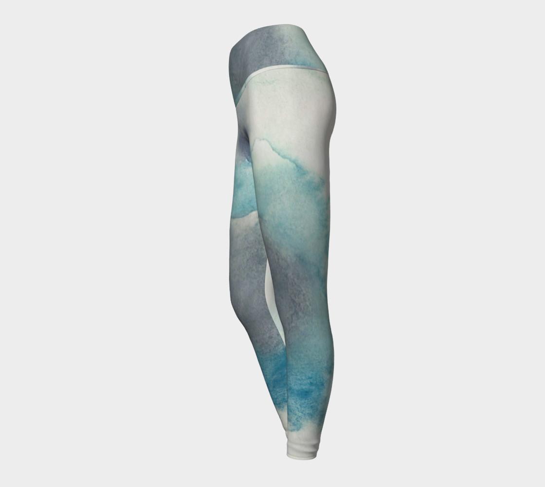 Tidal Pool Yoga Leggings preview #3