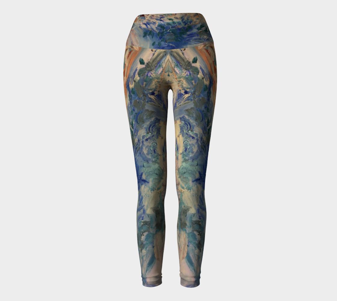 ocean tides yoga pants preview #2