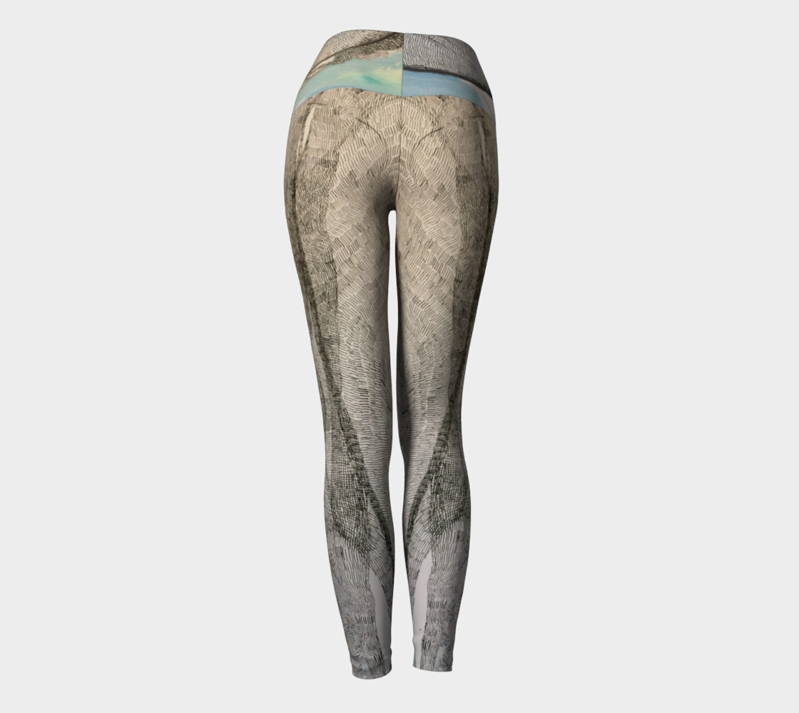 ocean flow yoga pants preview #4