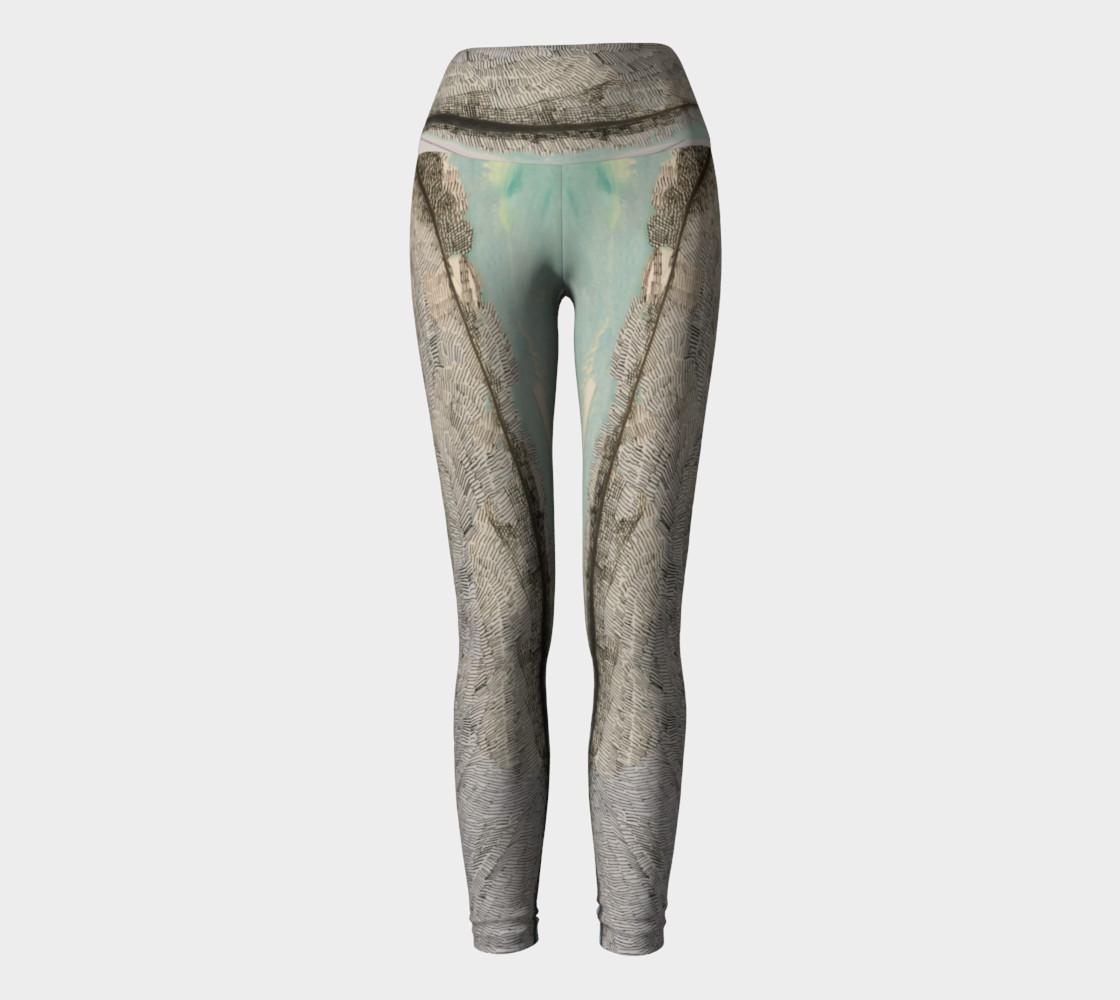 ocean flow yoga pants preview #2