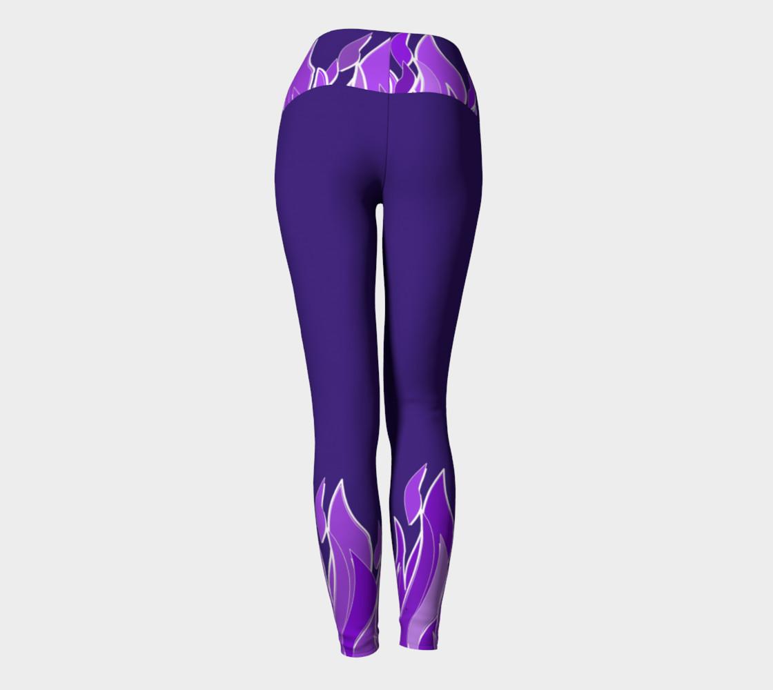 Violet Flame Yoga Pants preview #4