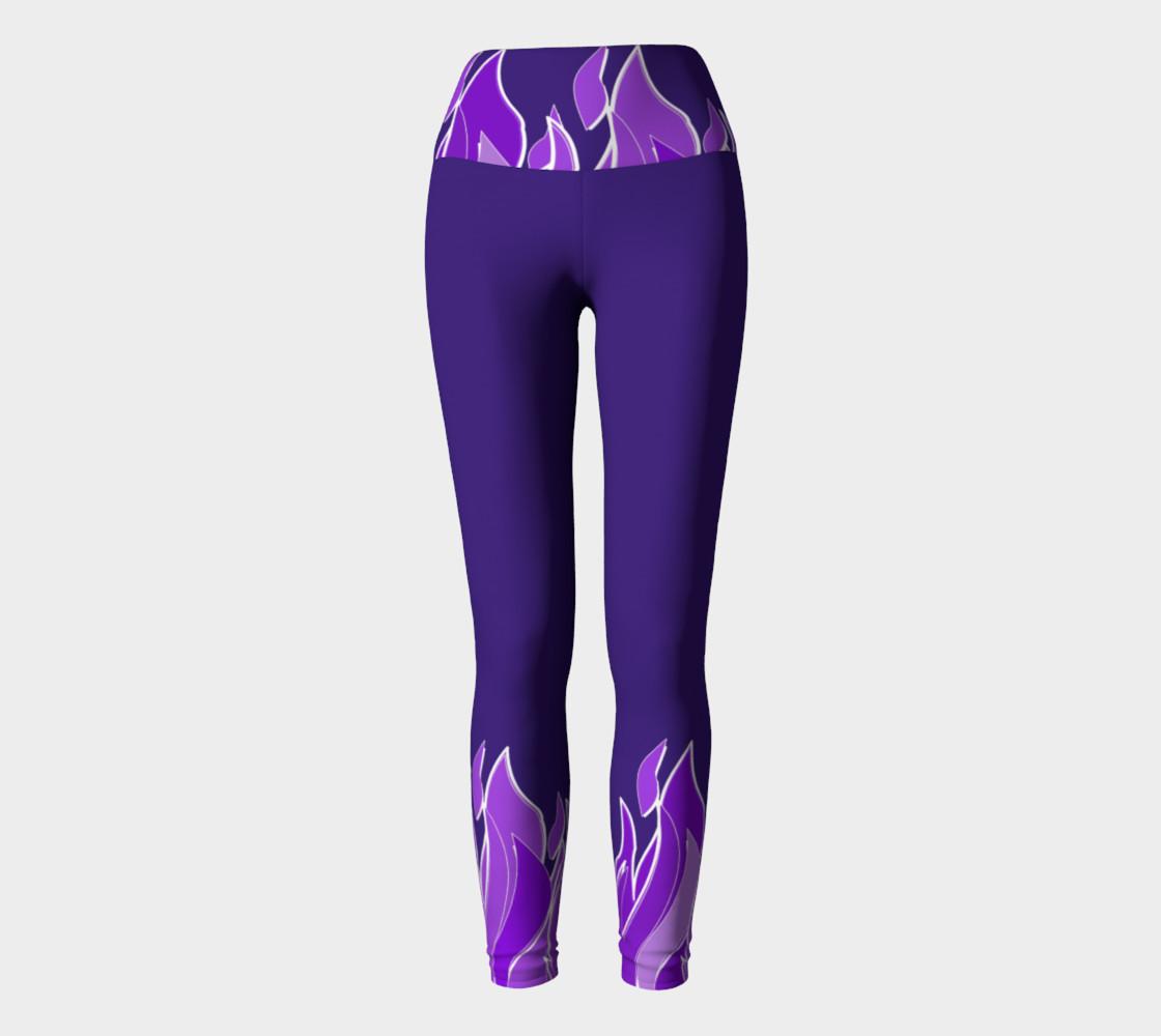Violet Flame Yoga Pants preview #2