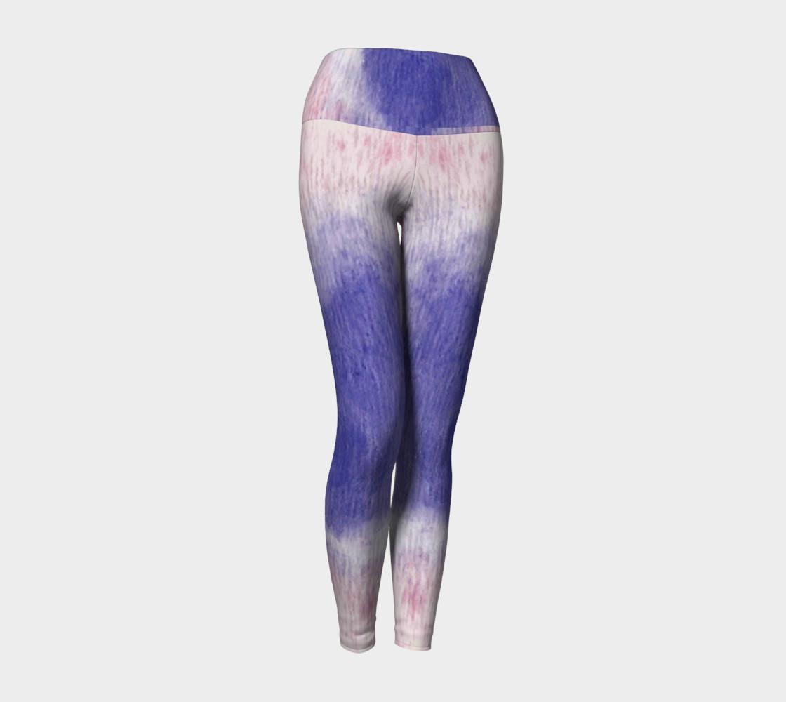 Pastel Floral Dream Yoga Leggings preview #1
