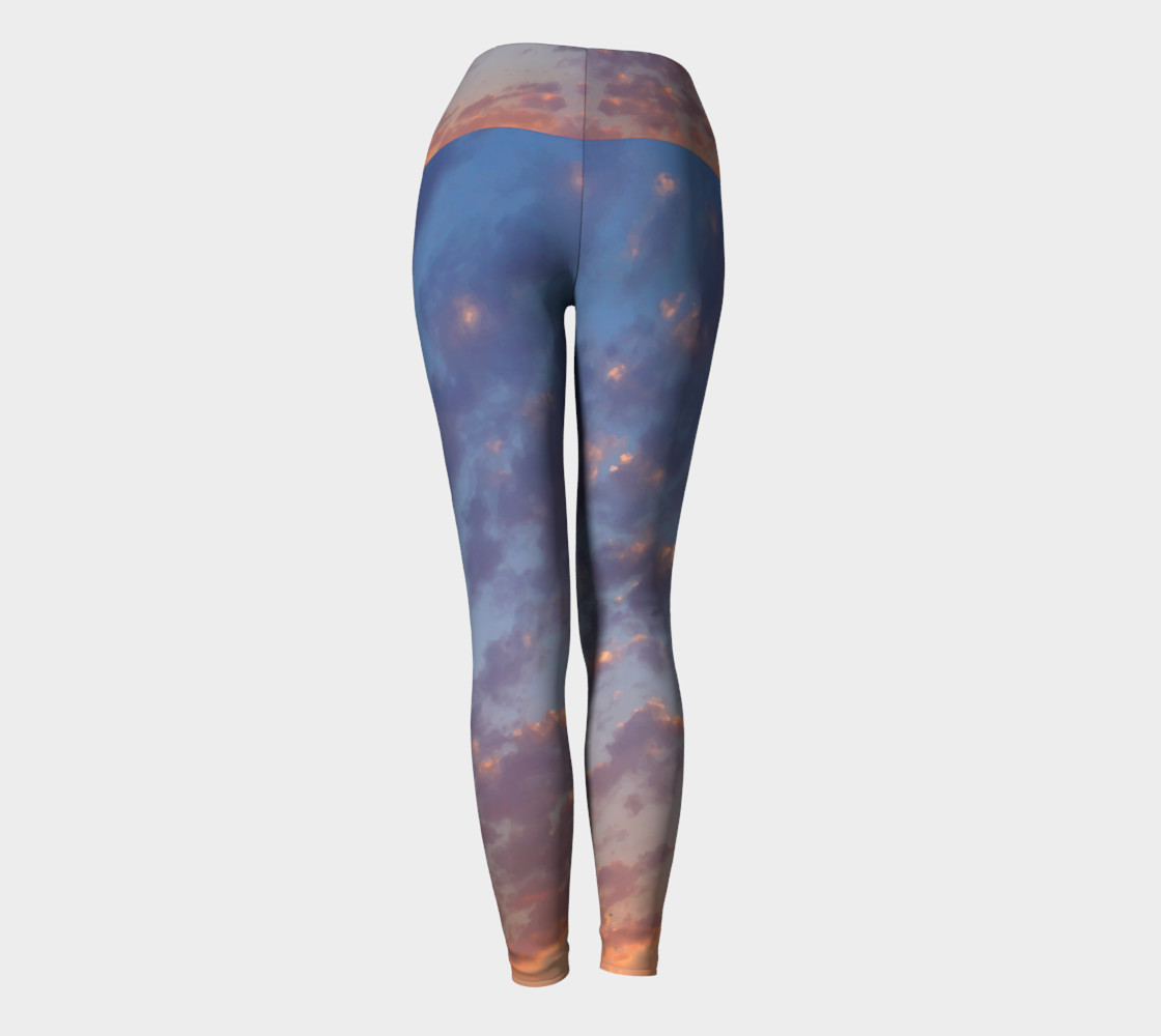 Endless Sky Yoga Leggings preview #4