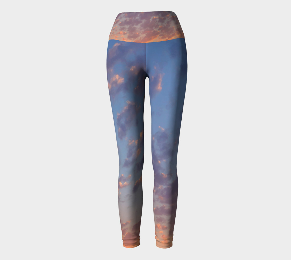 Endless Sky Yoga Leggings preview #2