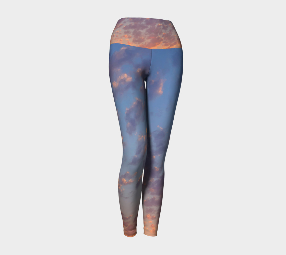 Endless Sky Yoga Leggings preview #1