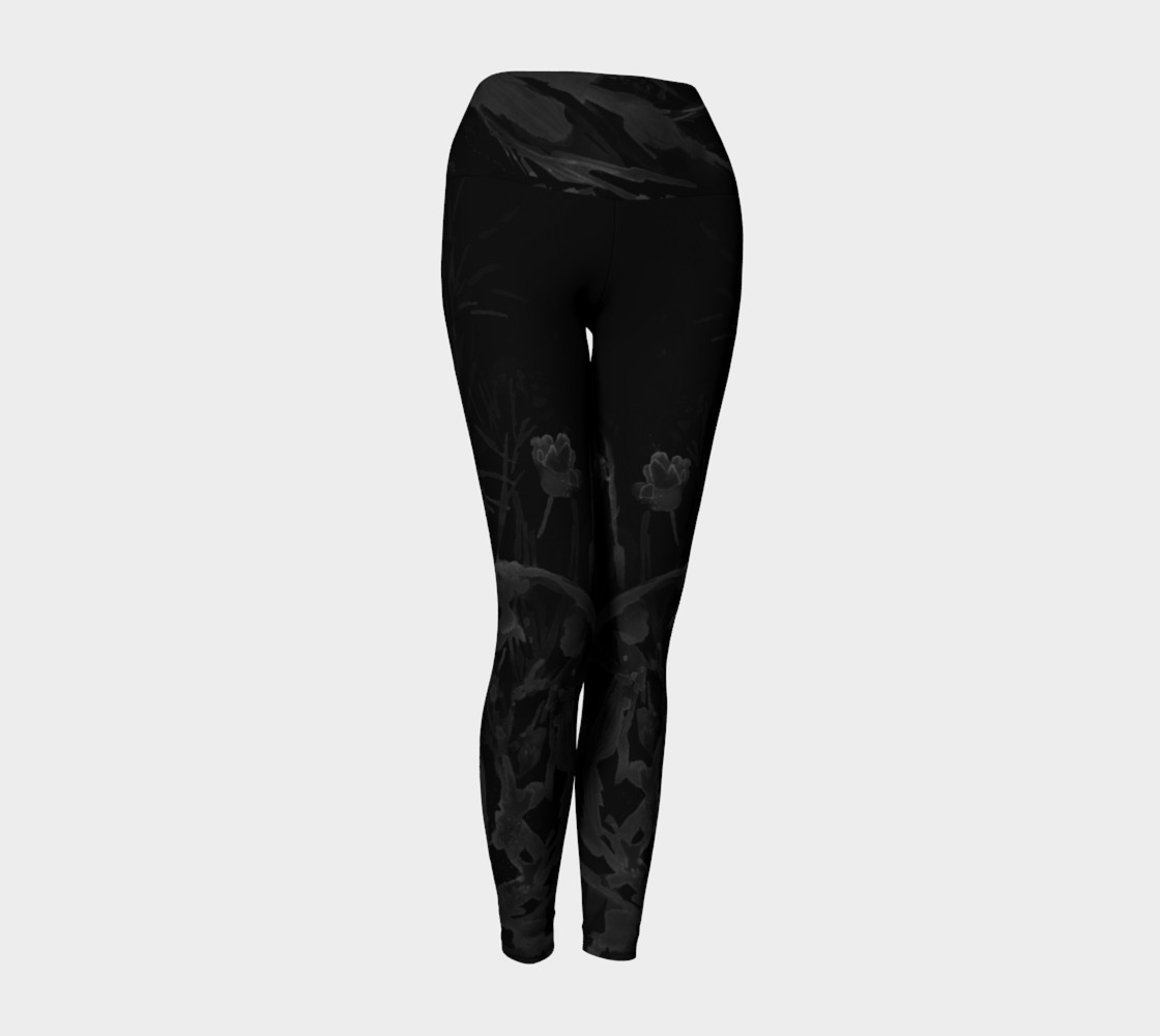 Aperçu 3D de Black Sea Belle  yoga leggings