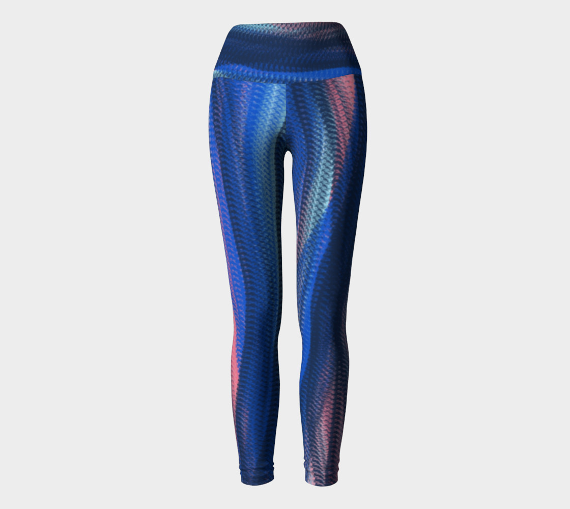 Aperçu de Mermaid Spirit  yoga leggings #2
