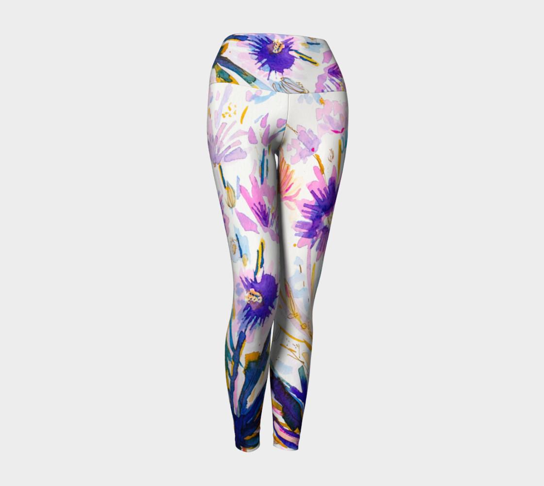 Aperçu de Funny Girl  yoga leggings #1