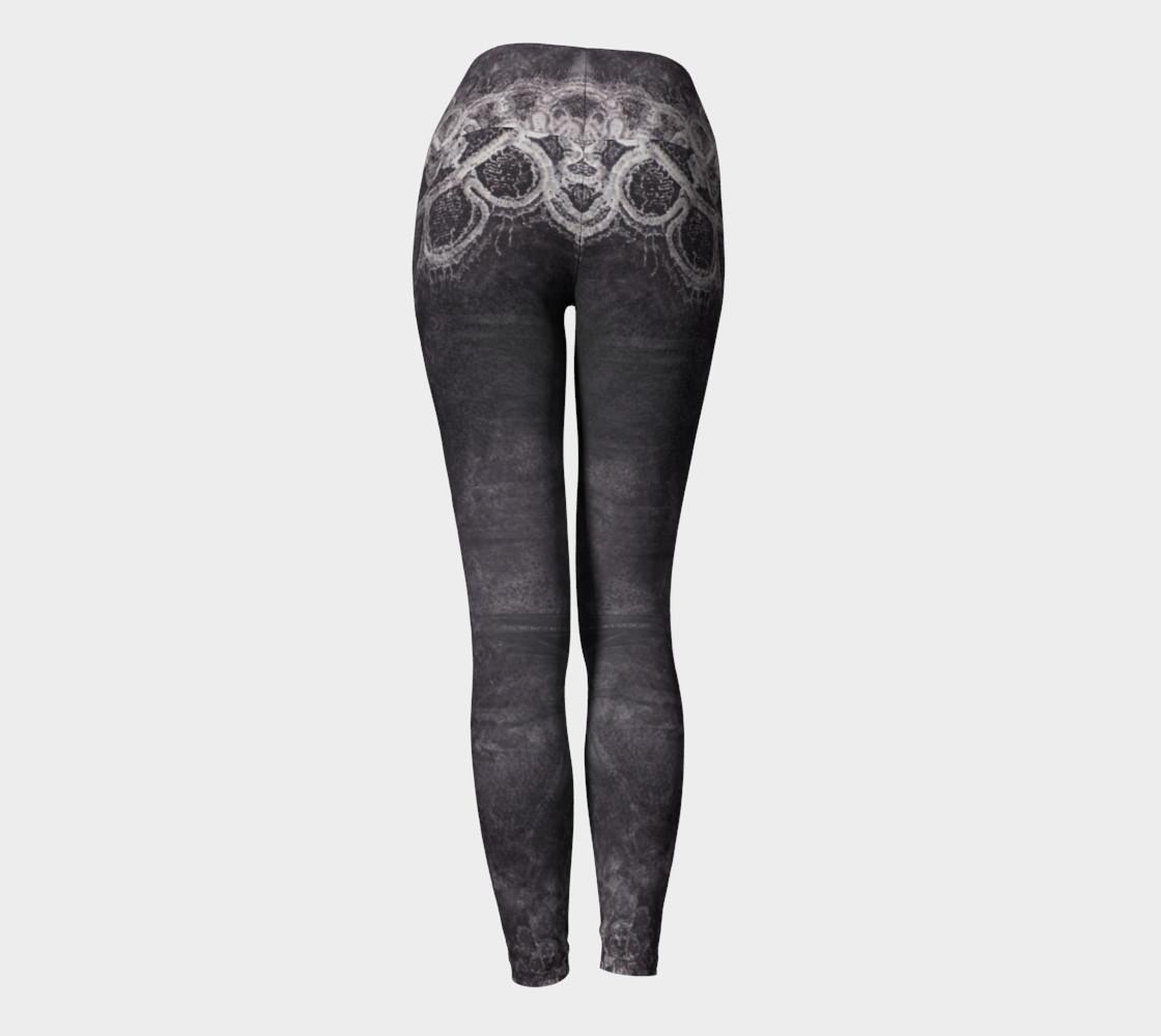 Dark Lace Leggings preview #4