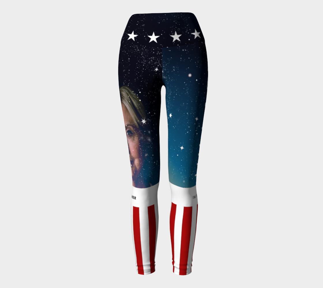 Hillary Clinton Galaxy Leggings preview #2