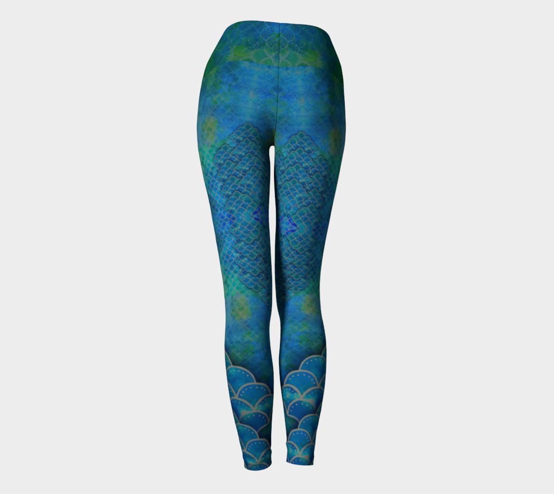 Calf Scale Dragon Mermaid Pants preview #4