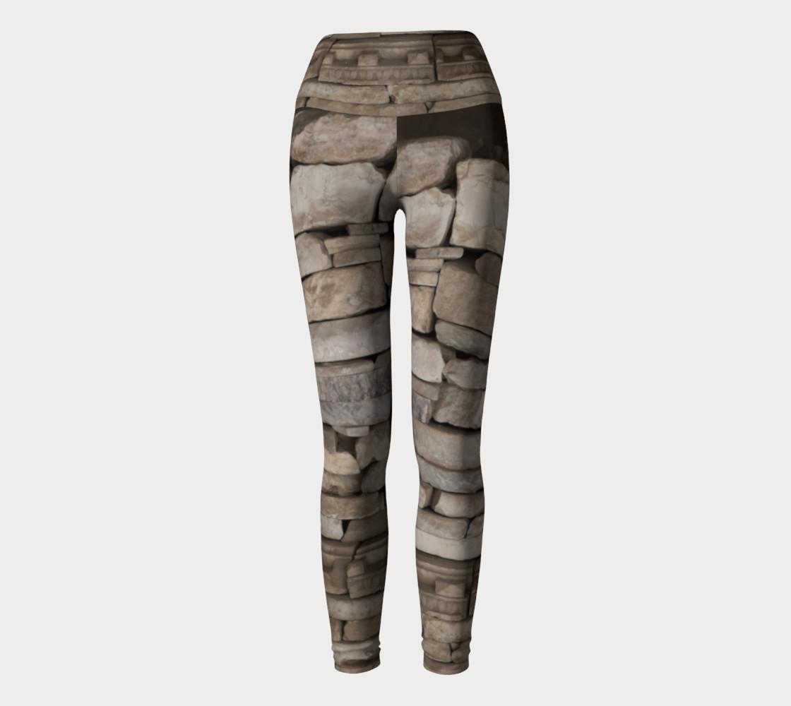 Aperçu de Textural Antiquities Herculaneum Five Yoga Leggings #2