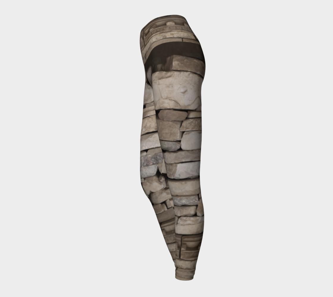 Aperçu de Textural Antiquities Herculaneum Five Yoga Leggings #3
