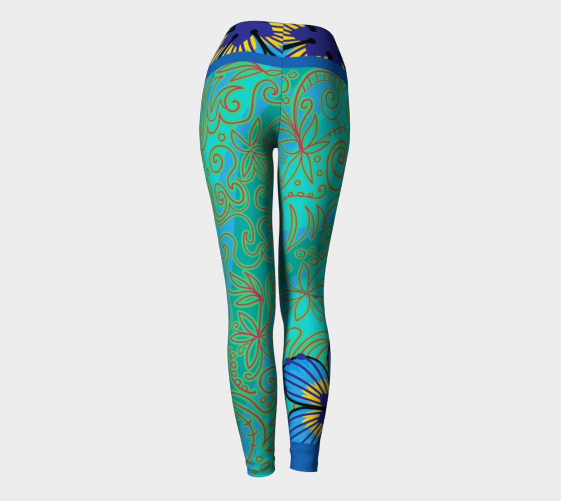 Scribe & Flower Yoga Sport Leggings preview #4
