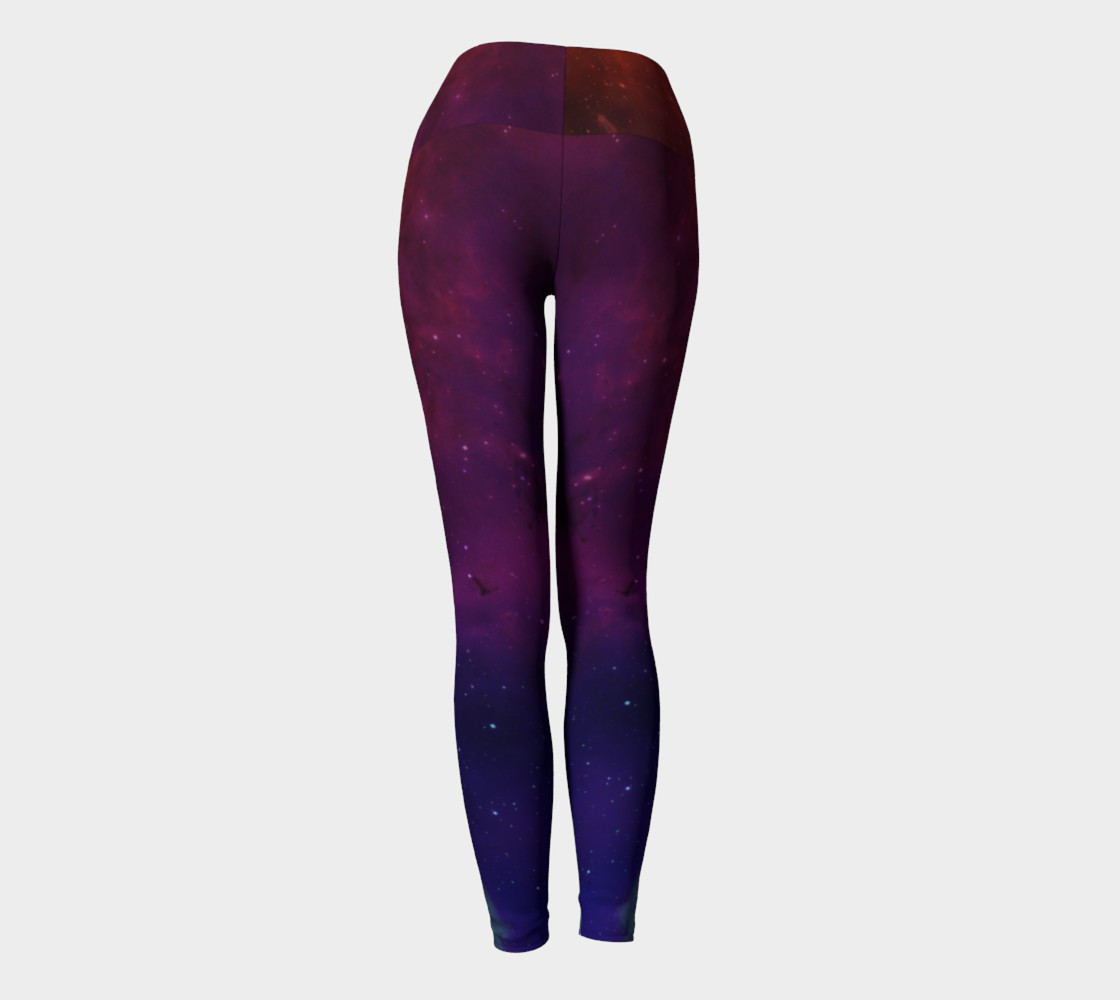 Aurora Portal Yoga Leggings by Danita Lyn preview #4